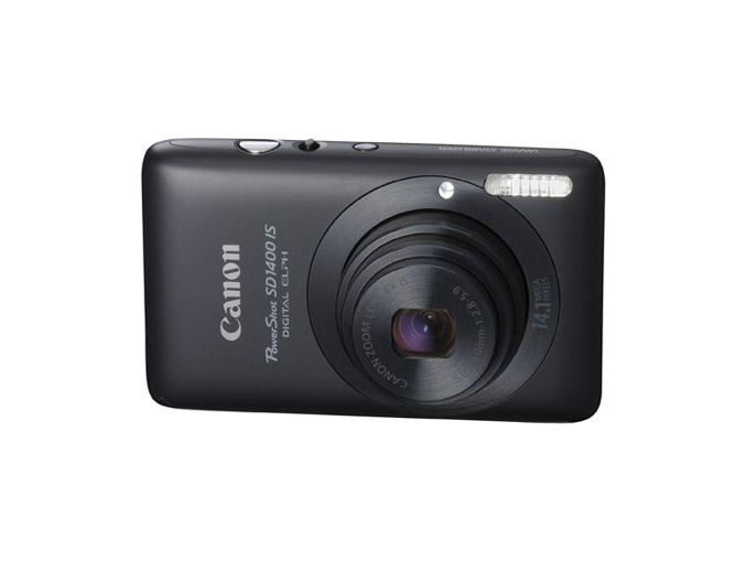 Canon PowerShot SD1400 IS - Black