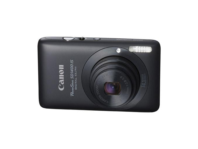 Canon PowerShot SD1400 IS – Black