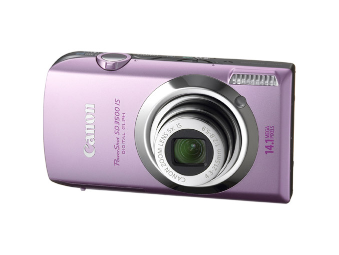 Canon PowerShot SD3500 IS – Pink