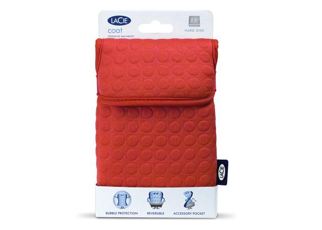 Lacie Coat Packaging
