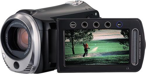 JVC Everio GZ-HM340 HD camcorder