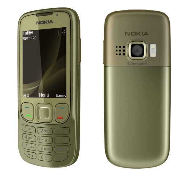 Nokia 6303i Classic Khaki Gold