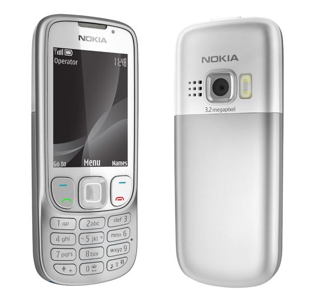 Nokia 6303i Classic Silver White