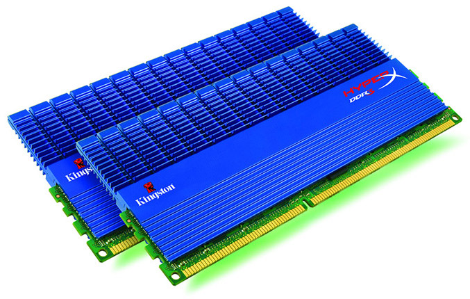 Kingston HyperX dual channel DDR3