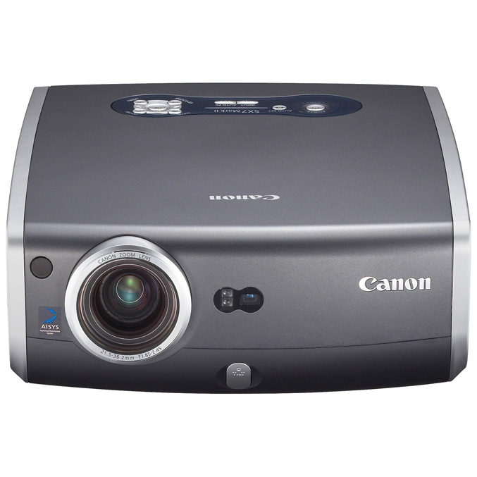 Canon REALiS SX7 Mark II Multimedia LCOS Projector