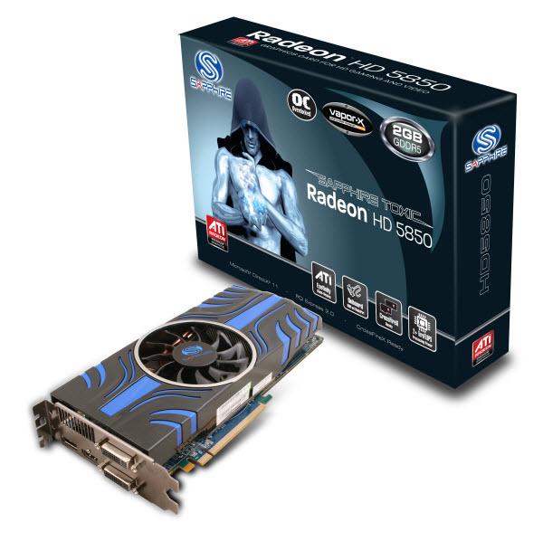 SAPPHIRE HD 5850 TOXIC