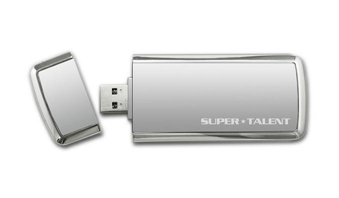 Super Talent SuperCrypt USB 3.0 drive