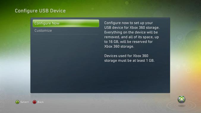 USB Xbox 360