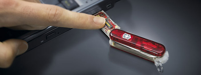 Victorinox Secure 32GB Swiss Army Knife