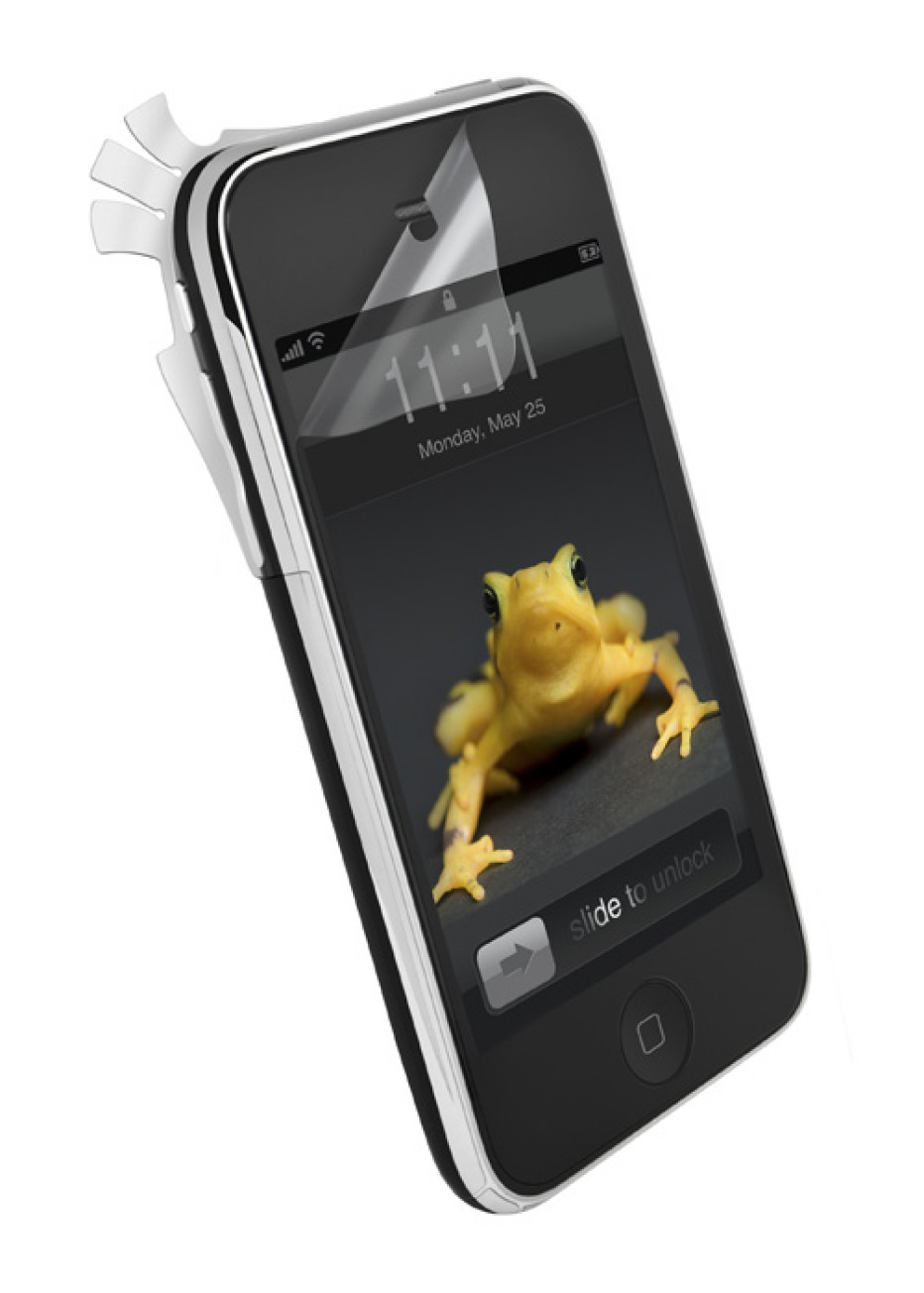 Wrapsol ultra adhesive films for mobile device protection