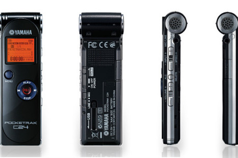 Yamaha Pocketrak digital recorders