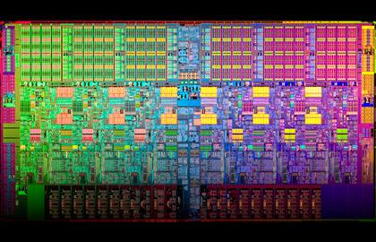 Intel Westmere-EP Die