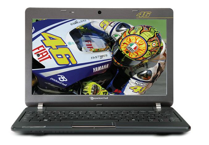 Packard Bell dot VR46 Valentino Rossi netbook