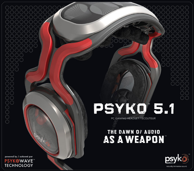 Psyko 5.1 PC Gaming Headset