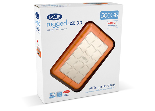 LaCie Rugged USB 3.0