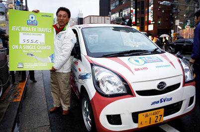 Sanyo Guiness World-Record Mira-EV