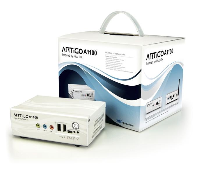 VIA ARTiGO A1100 box