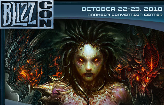 BlizzCon 2010 Gamers Convetion Detailed Information