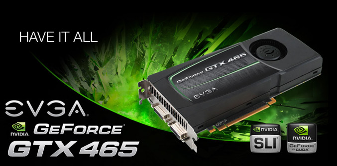 EVGA GeForce GTX465