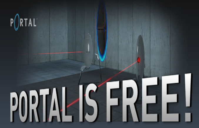Free Portal on Steam until 24th May