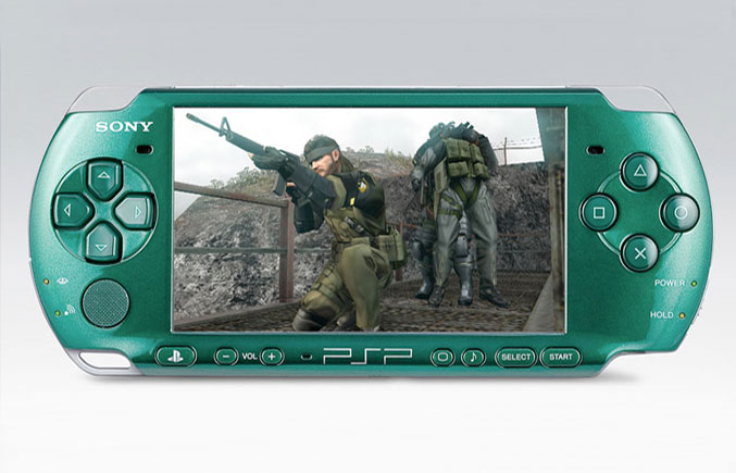 Metal Gear Solid: Peace Walker PSP-3000 Package