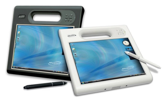 Motion C5v and F5v Tablet PCs