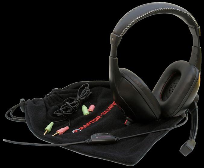 Raptor Gaming H3 headset