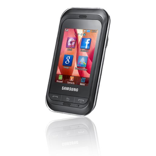 Samsung Champ Cheap touchscreen phone
