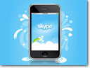 Upgraded iPhone Skype Client