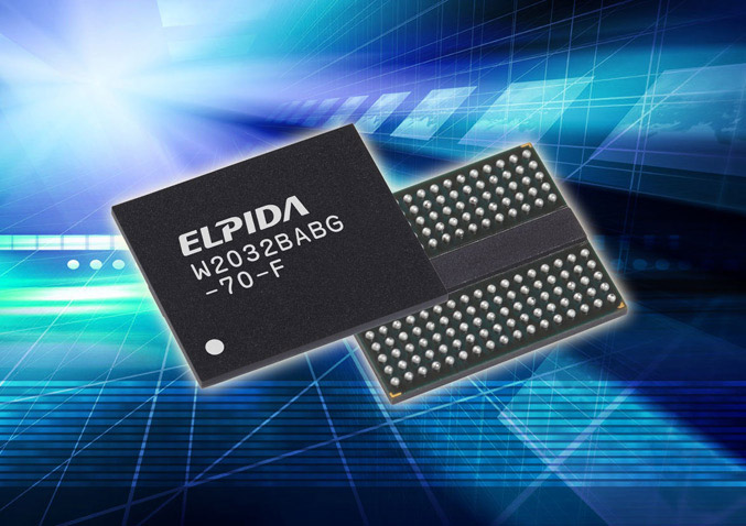 Elpida 50nm 2Gb GDDR5
