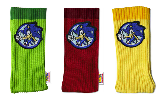 Mad Catz Sonic the Hedgehog Accessory Sockz