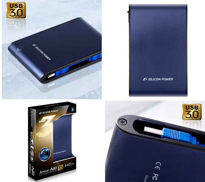 Armor A80 Portable Hard Drive