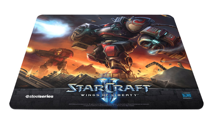 SteelSeries QcK StarCraft II Marauder Edition