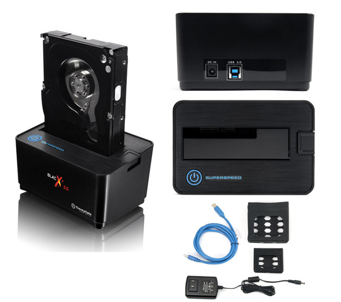 Thermaltake BlacX 5G USB 3.0-Docking Station