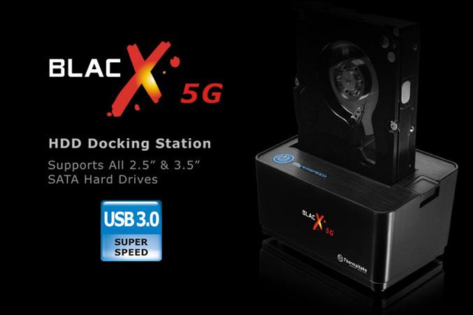 Thermaltake BlacX 5G USB 3.0-Docking Station
