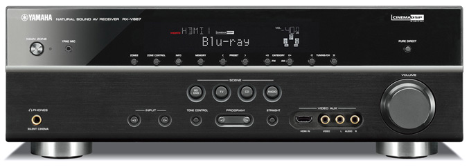 Yamaha RX-V667 7.2-Channel Digital Home Theater Receiver