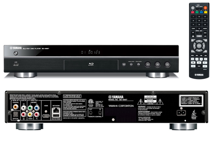 yamaha intros rx v667 3d 7 1 channal av receiver bd s667. Black Bedroom Furniture Sets. Home Design Ideas