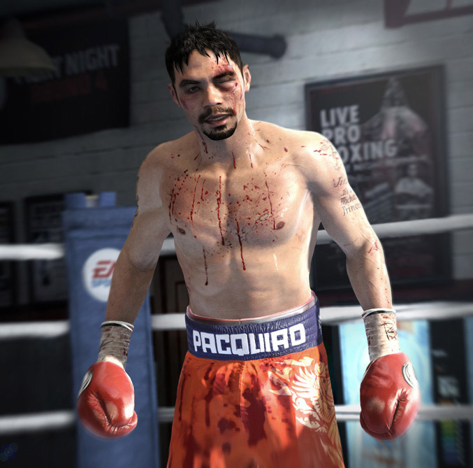 Fight Night Champion Manny Pacquiao
