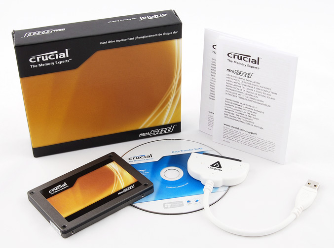 Lexar Crucial RealSSD C300 with Data Transfer Kit