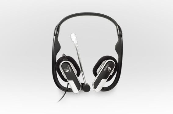Logitech-Laptop-Headset-H555