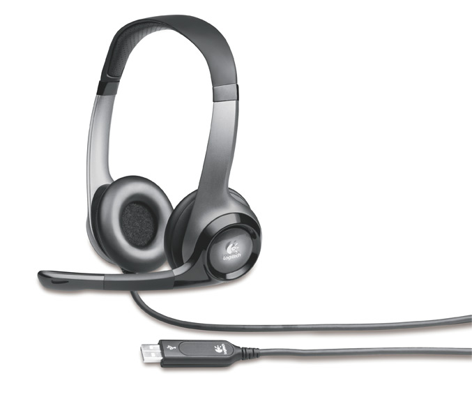 logitech offers usb headset h530 and laptop headset h555 for your calls. Black Bedroom Furniture Sets. Home Design Ideas