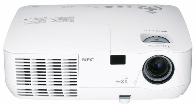 NEC NP115 projector