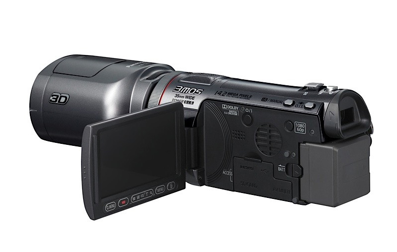Panasonic HDC-SDT750 3D camcorder