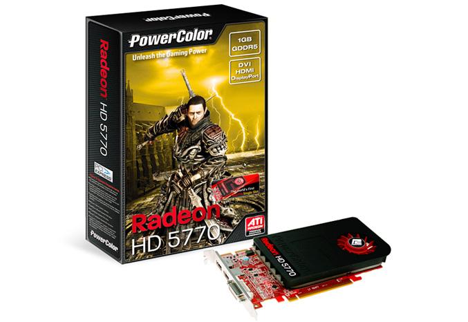 PowerColor HD5770 1GB GDDR5 Single Slot