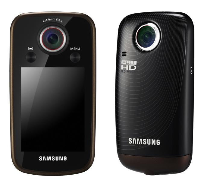 Samsung HMX-E10 pocket size camcorder