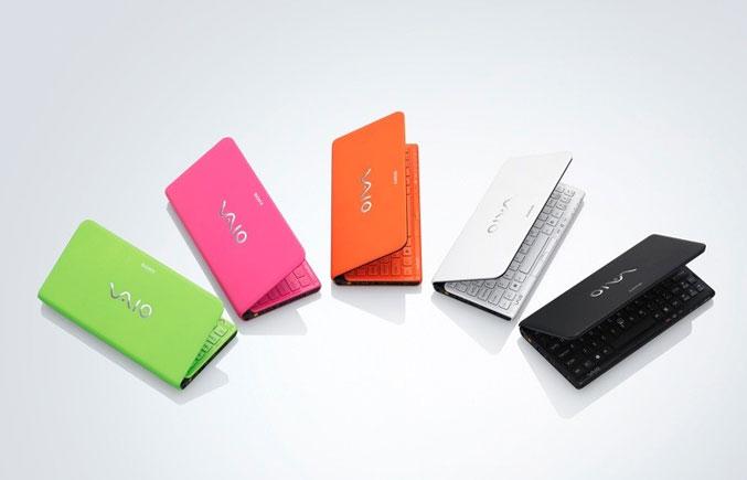 Sony VAIO P-Series Color Range