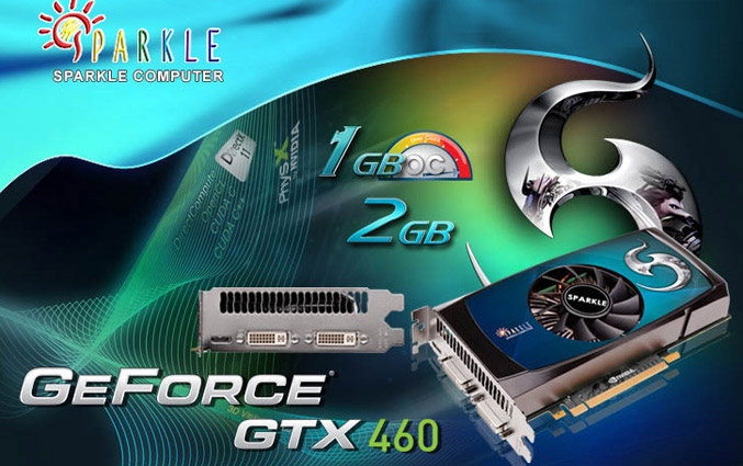 Sparkle Geforce GTX460