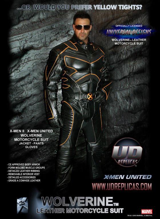Wolverine Motorcycle Suit