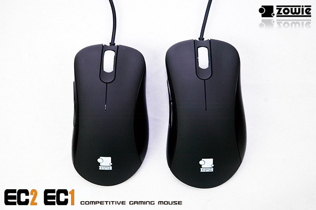 ZOWIE GEAR EC1 and EC2 competive gaming mice