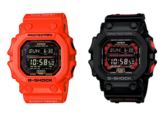 Casio G-Shock GX56-1A and GX56-4